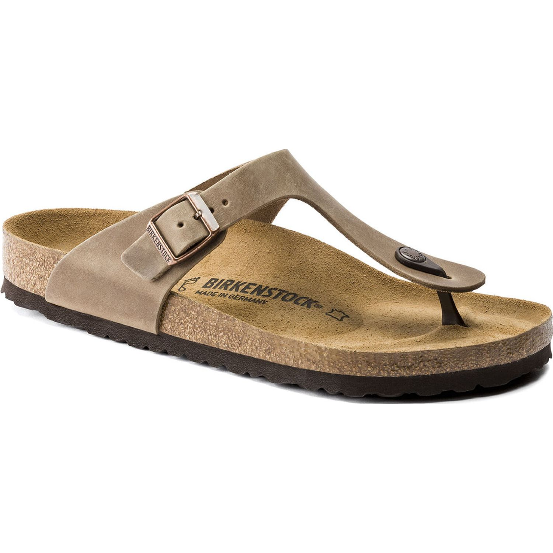 Birkenstock Sandalia Gizeh Oiled Leather Marron Sandalias deportivas y slides