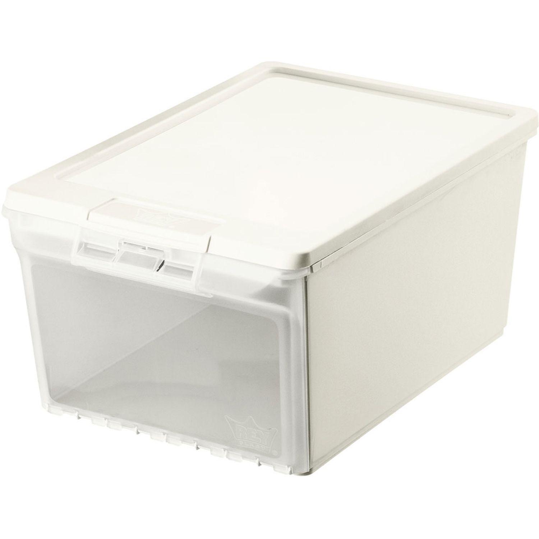 REY PLAST Caja Luxor 12 L Transparente Cajas de almacenamiento