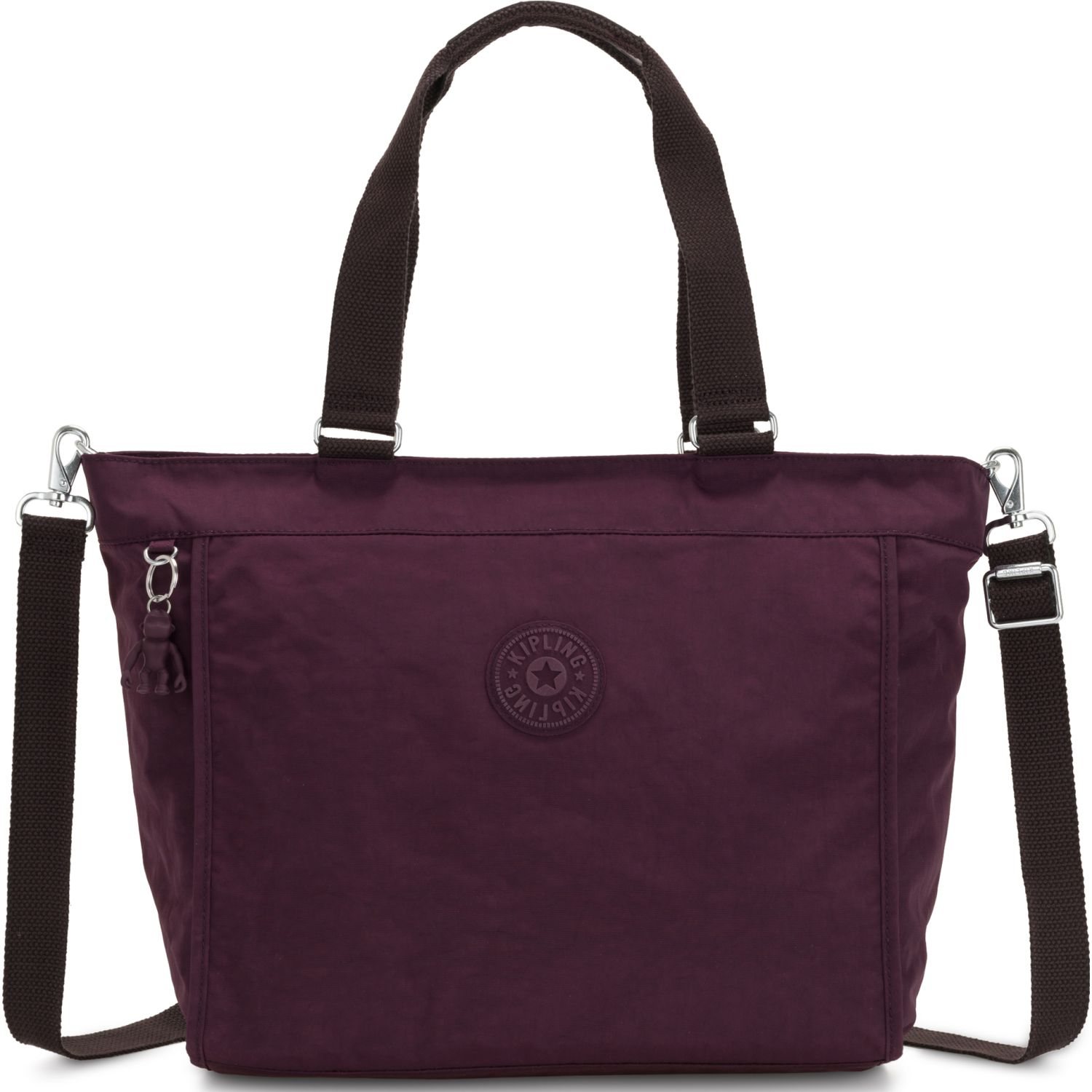 Kipling Cartera New Shopper L Morado Carteras con Asa