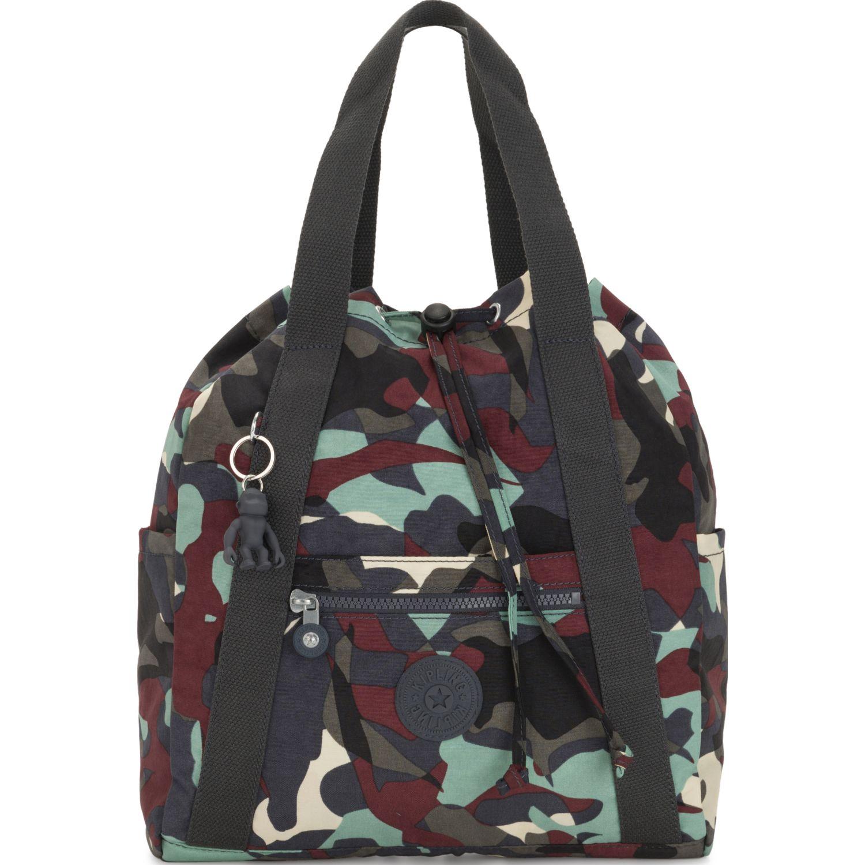 Kipling Mochila Art Backpack S Militar Mochilas
