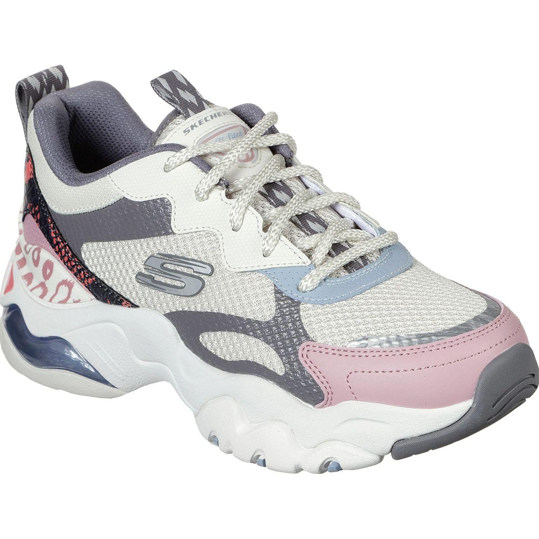 Skechers D'Lites 3.0 Blanco / rosado Para caminar