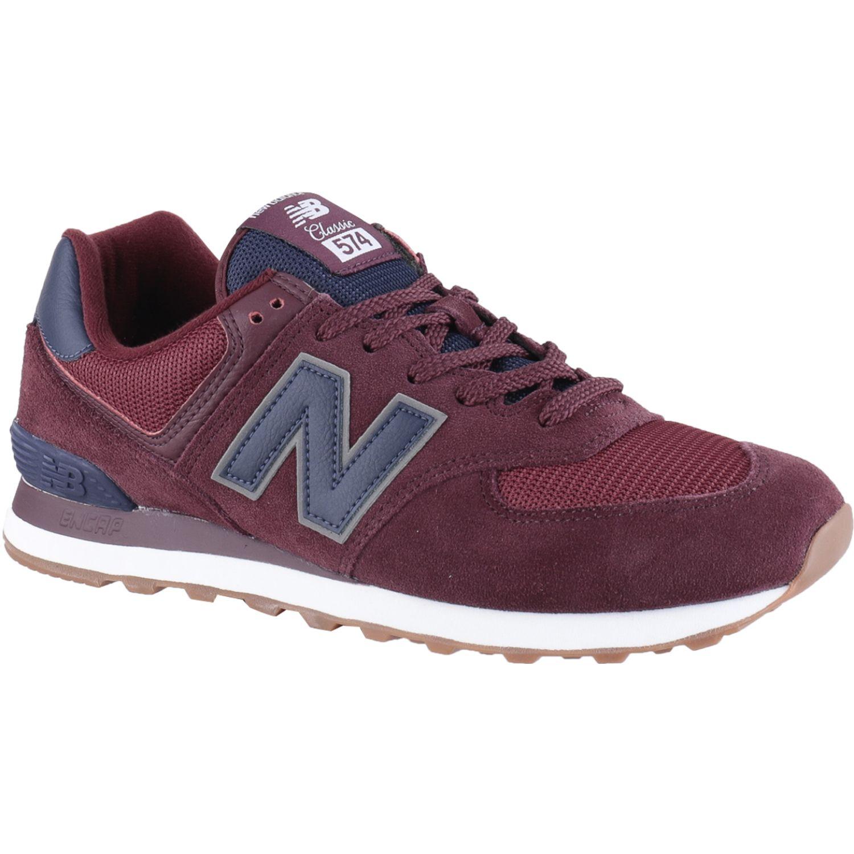 New Balance N.Balance Zapatilla Ml574spq Guinda Para caminar