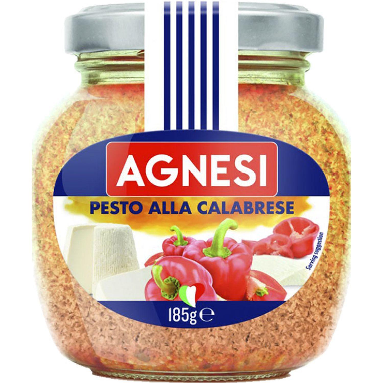 AGNESI Pesto A La Calabrese 185gr Sin color Pesto