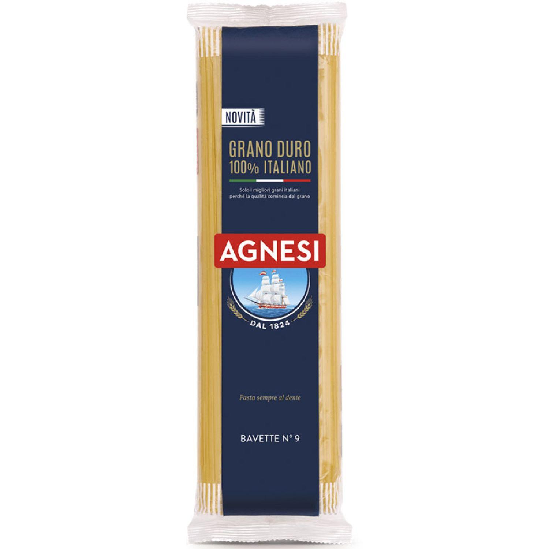 AGNESI Bavette 500gr Sin color Pastas
