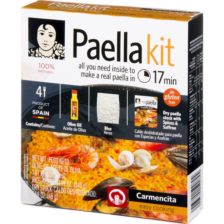 Carmencita Paella Kit Caja X 415 G Sin color Paella