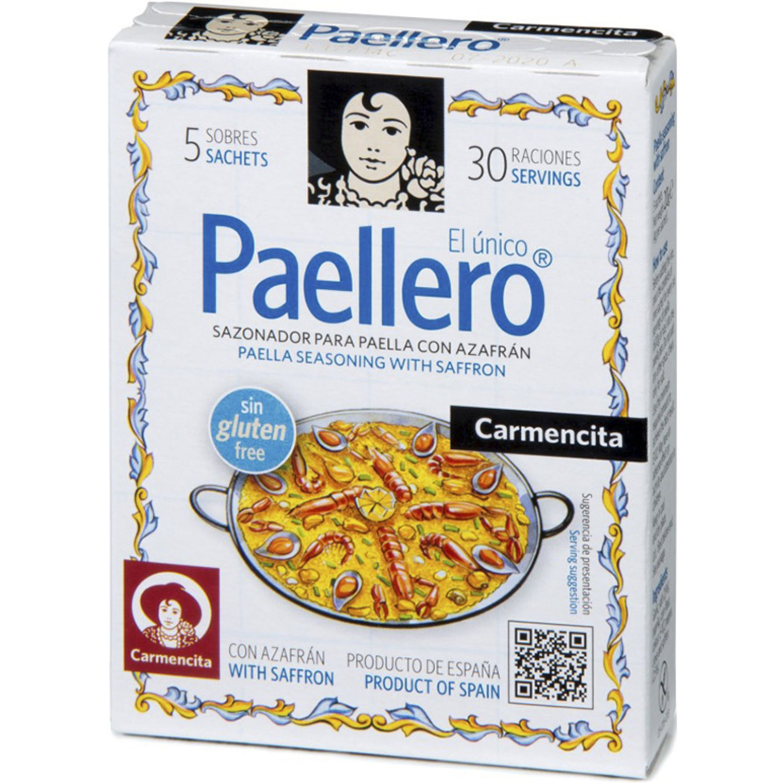Carmencita Paellero Estuche X 5 Sobres 20g Sin color Paella