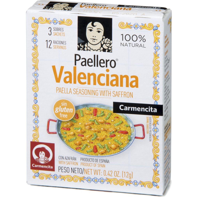 Carmencita Paellero Valenciana Estu. X 3 Sob. Sin color Paella