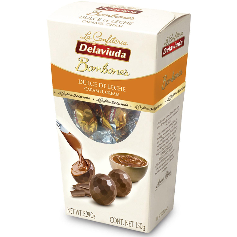Delaviuda Bombones Dulce De Leche 150 Gr Sin color Surtidos de dulces y chocolate