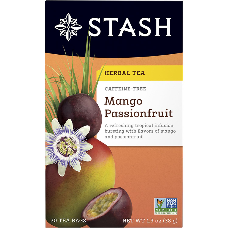STASH Te Herbal Mango Frutas Passion Sin color Té