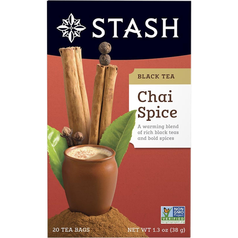 STASH Te Negro Chai Spice Sin color Negro