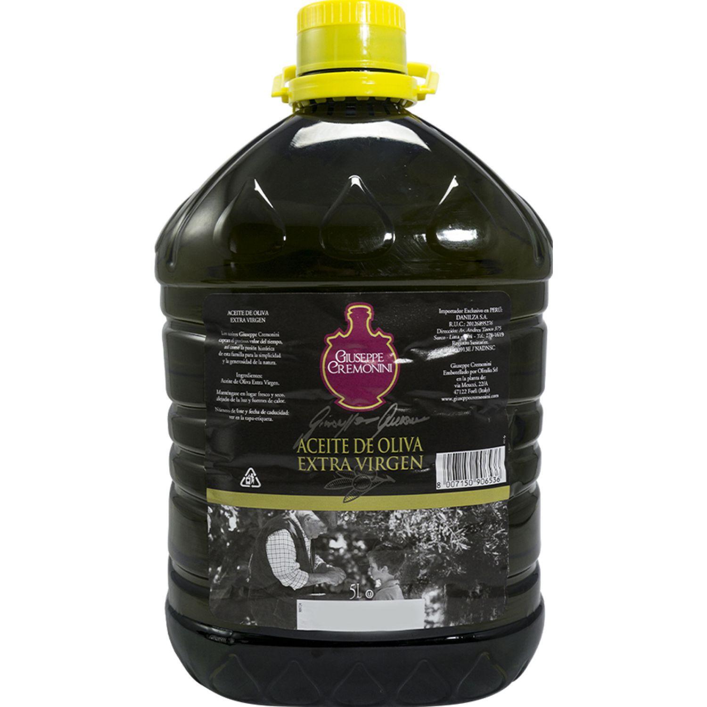 CREMONINI Aceite De Olive Extra Virgen 5lt Sin color Aceituna