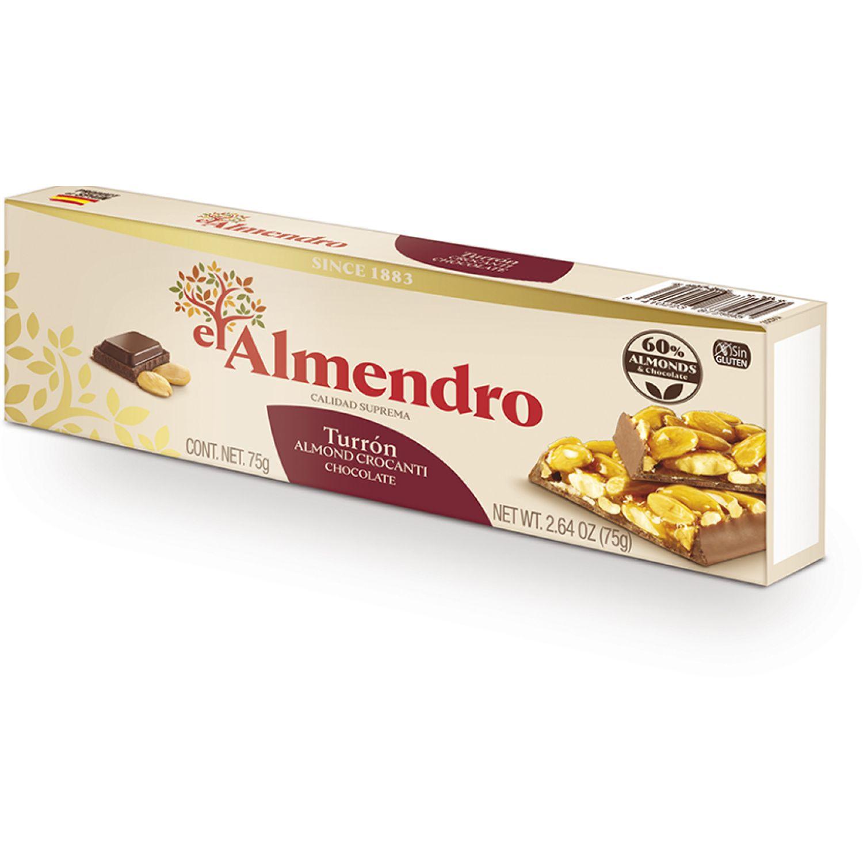 Delaviuda Turron Crocante C/ Chocolate 75 G Sin color Tradicionales e Internacionales dulces