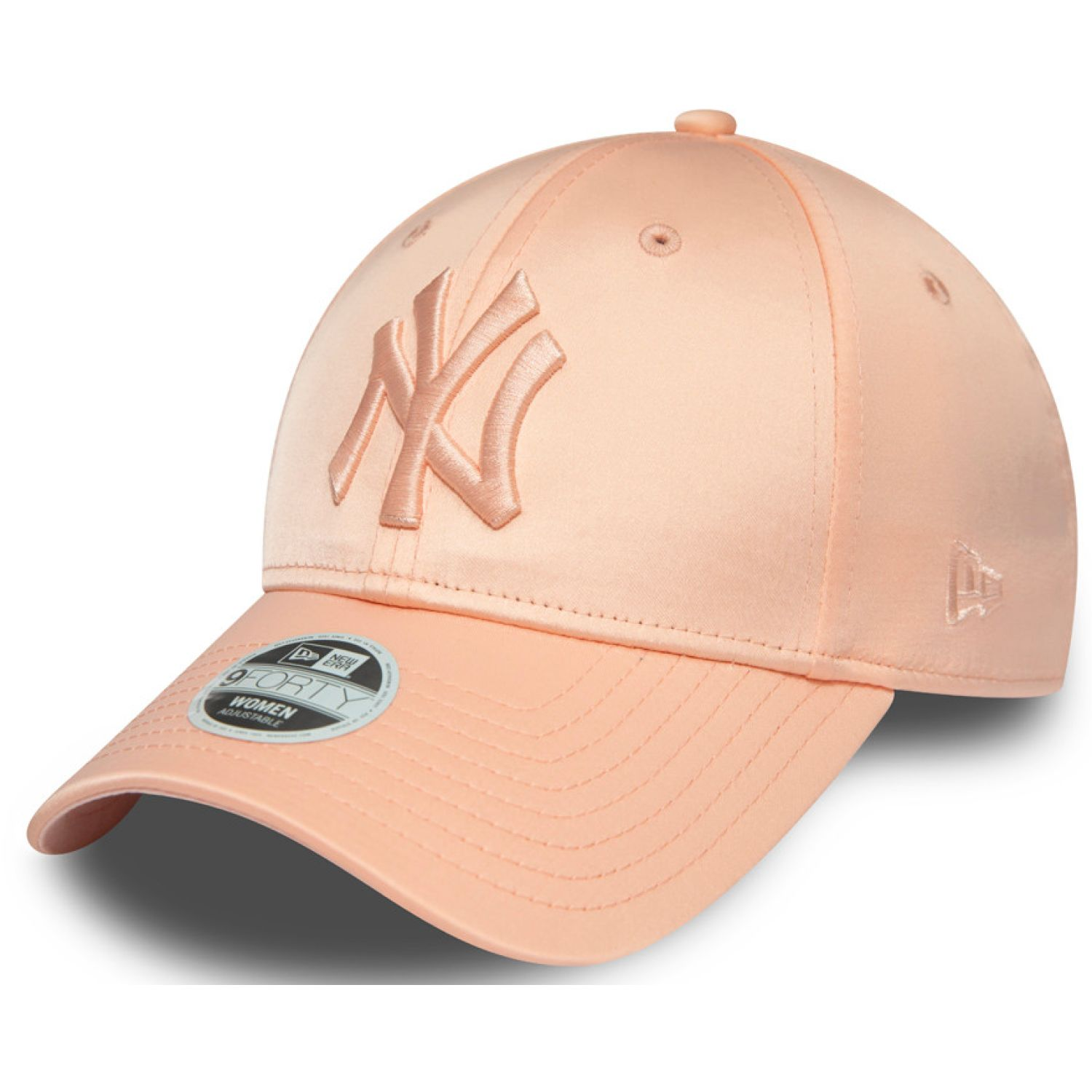 NEW ERA Womens Mlb Satin 9forty Neyyan Blh Pink Chullos y gorros
