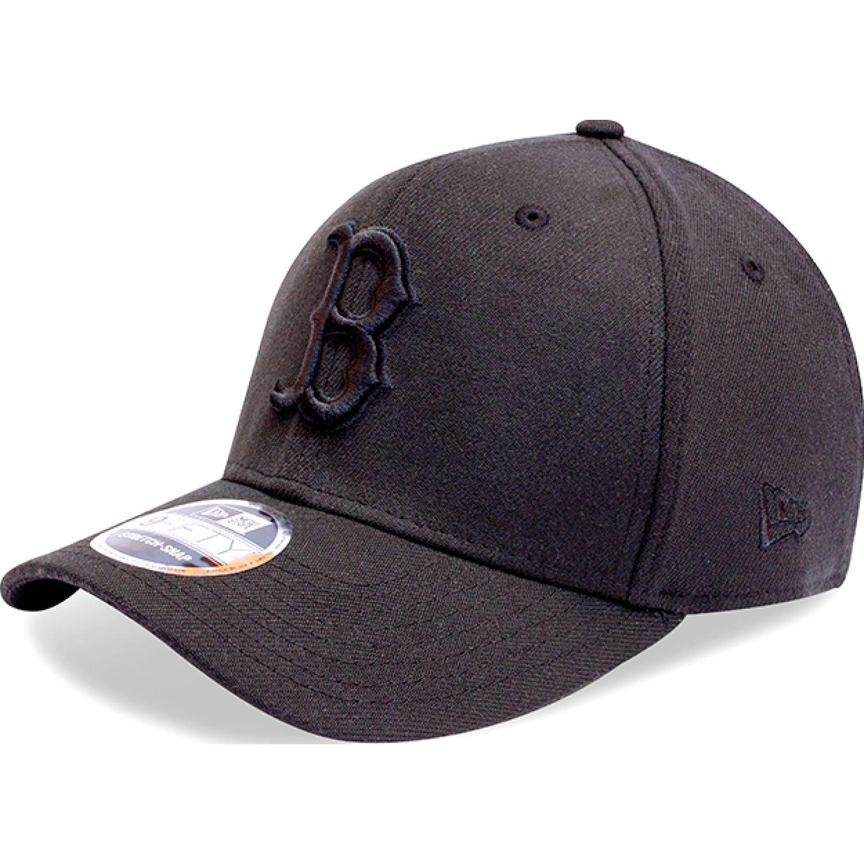 NEW ERA 950ss Bosred Blk Blk Negro Gorras de béisbol