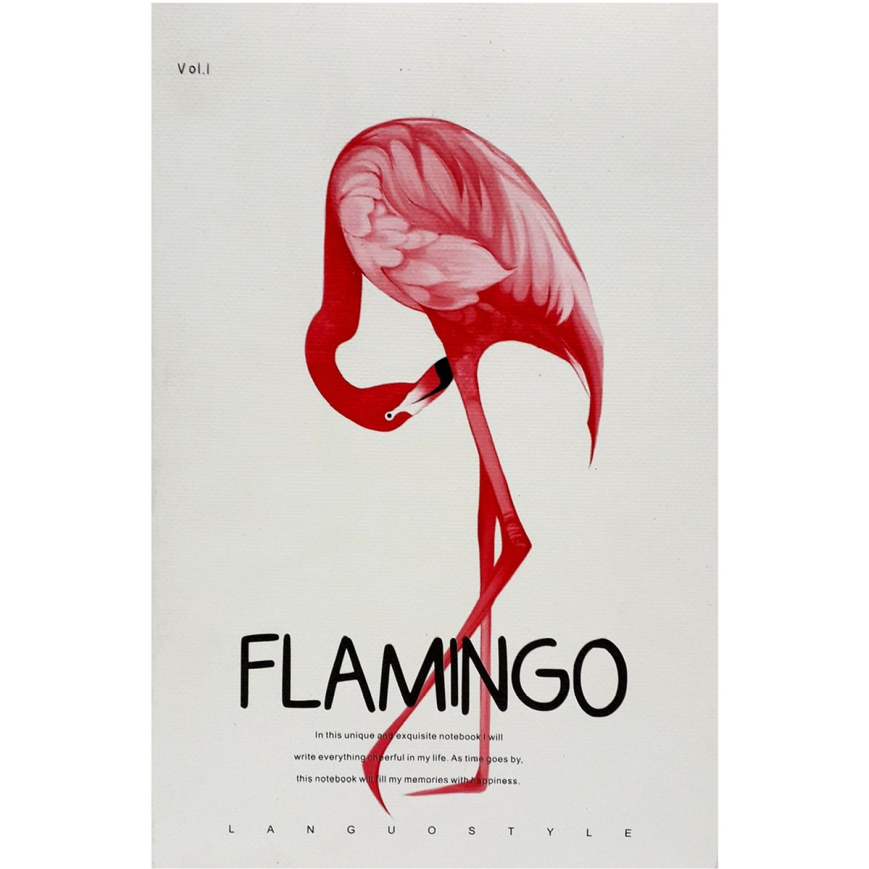 LANGUO Libreta Flamenco A5 Lg-21266 Varios Cuadernos sujetos