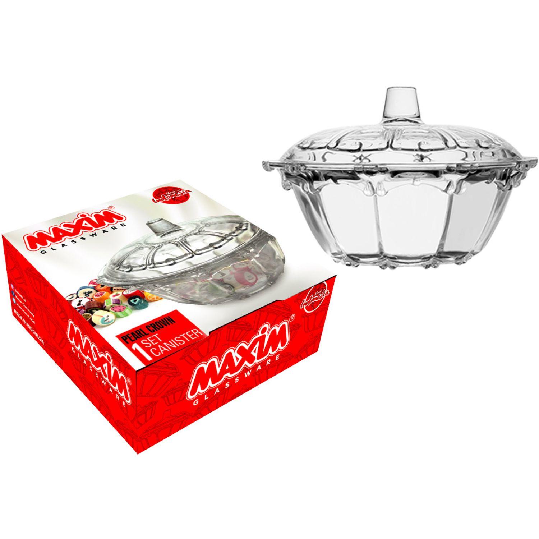 MAXIM Bombonera Pearl Caja Regalo Transparente Tazones para Snacks