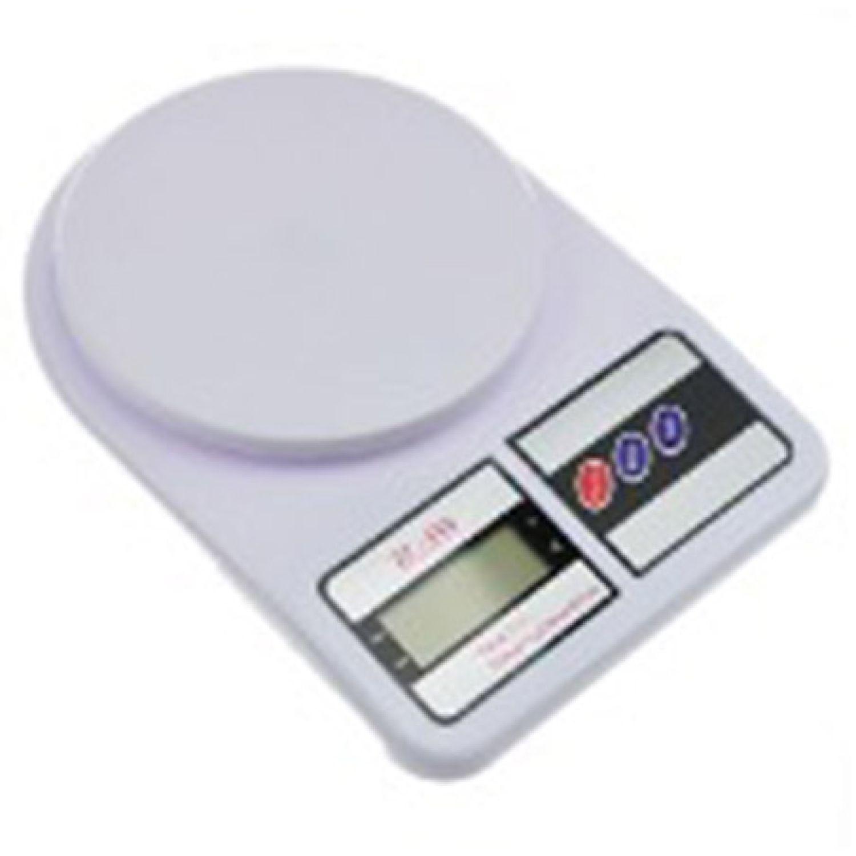ICHIMATSU Balanza Elec. Para Reposteria 5kg Blanco Básculas mecánicas