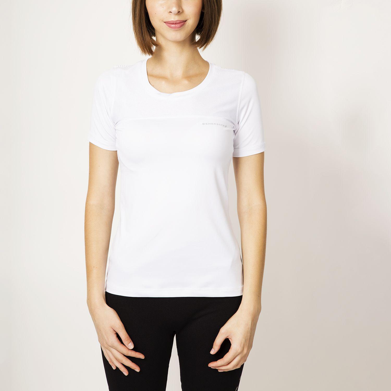 ENERSOCKS Camiseta Deportiva Microfibra Blanco Camisoles & Tanks