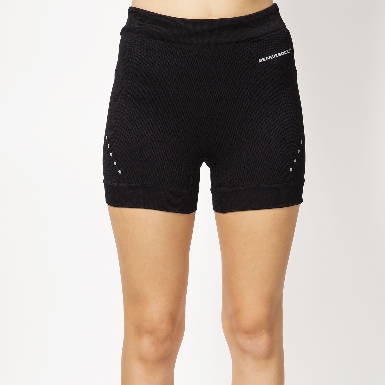 ENERSOCKS Calza Microfibra Compresión Negro Shorts deportivos
