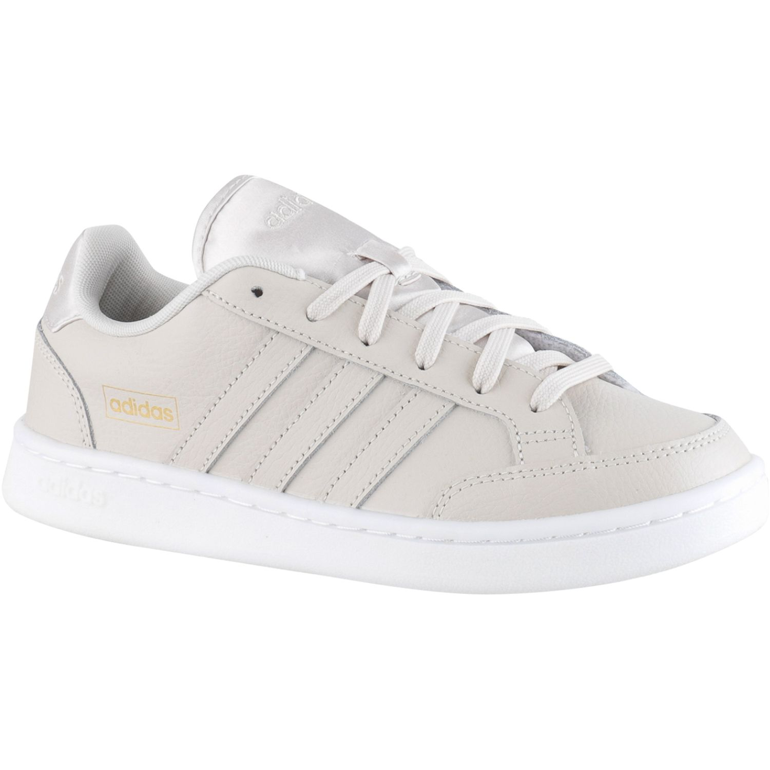 adidas Grand Court Se Beige Mujeres