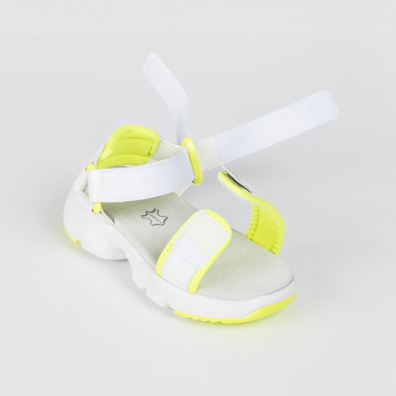 Colloky Sandalia Cg 43200210 Blanco / amarillo Sandalias