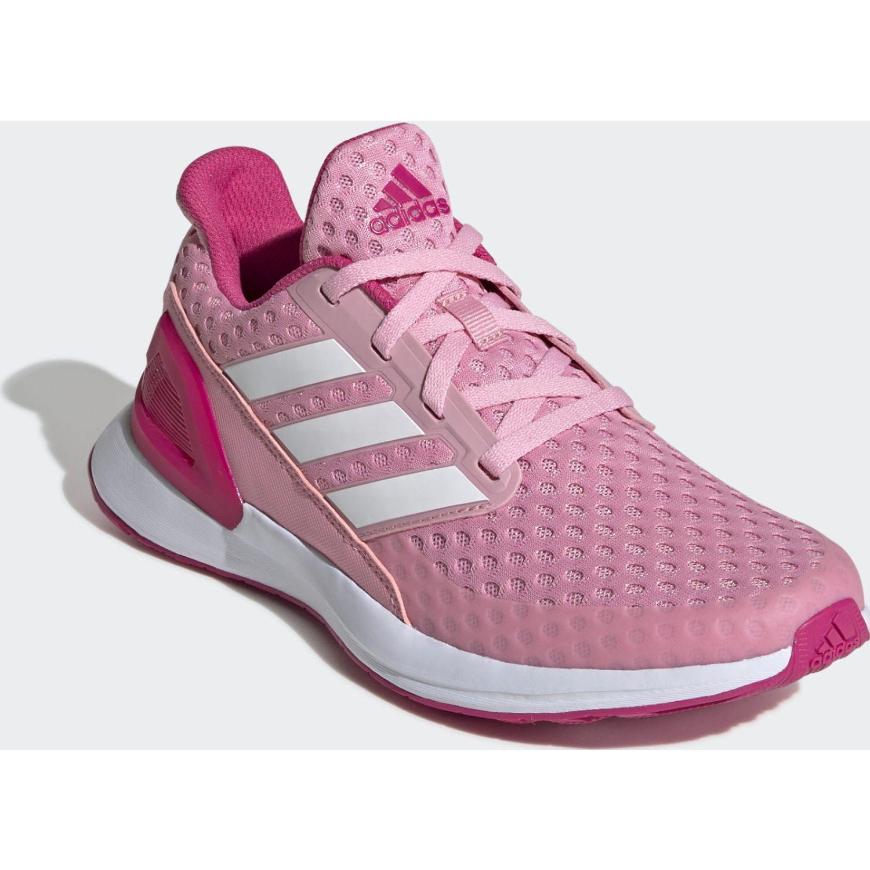 Adidas Rapidarun J Rosado Niñas