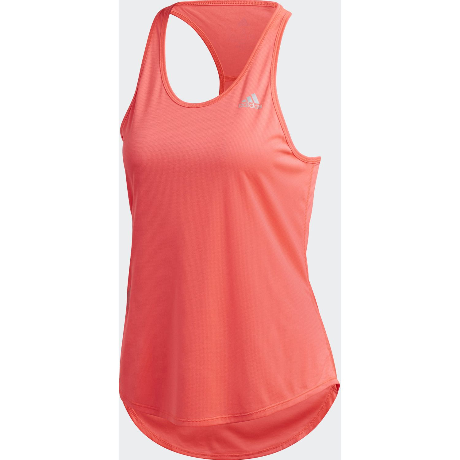 Adidas Run It Tank 3s Coral Camiseta sin mangas