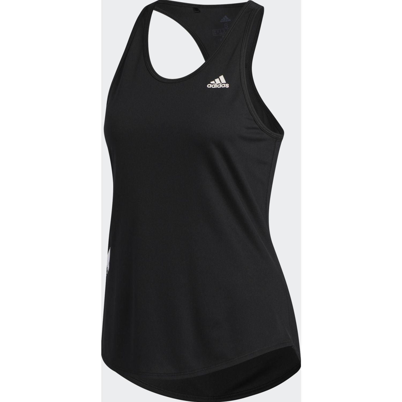 Adidas Run It Tank 3s Negro Camiseta sin mangas