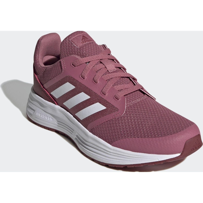 Adidas Galaxy 5 Rosado Running en pista