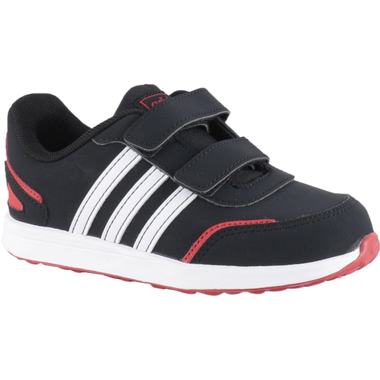 Adidas VS SWITCH 3 I Negro / rojo Para caminar
