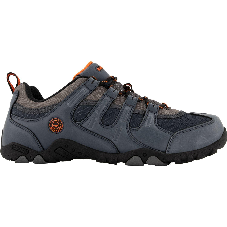 Hi-Tec Quadra Ii Lite Gris / plomo Zapatos de senderismo