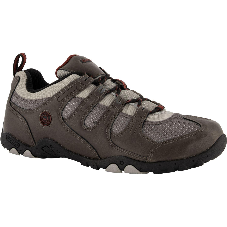 Hi-Tec Quadra Ii Lite Gris / negro Zapatos de senderismo