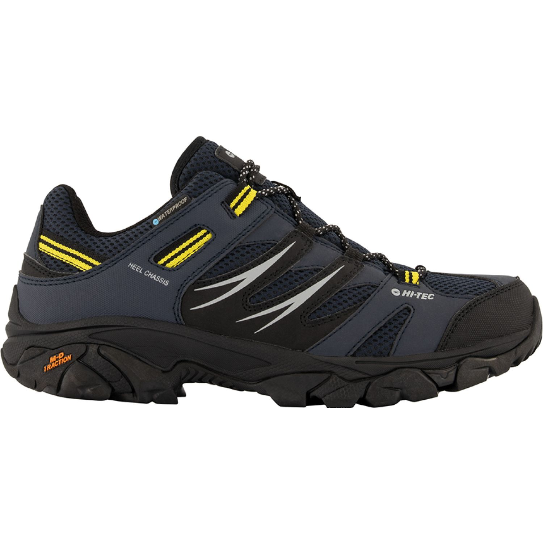 Hi-Tec Tarantula Low Wp NEGRO / GRIS Zapatos de senderismo