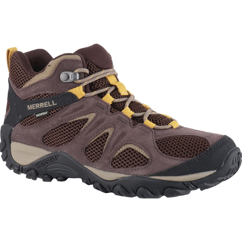 Merrell Yokota 2 Mid Wp Marron Zapatos de senderismo