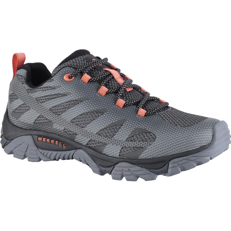 Merrell Moab Edge 2 Negro / azul Zapatos de senderismo