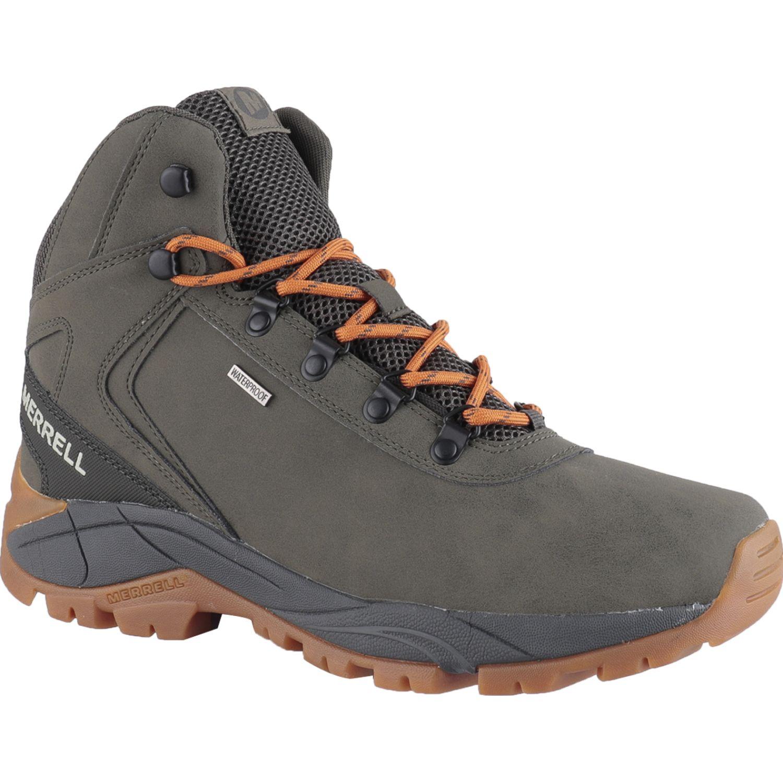 Merrell Kivu Mid Wp (Erie) VERDE OLIVO Zapatos de senderismo