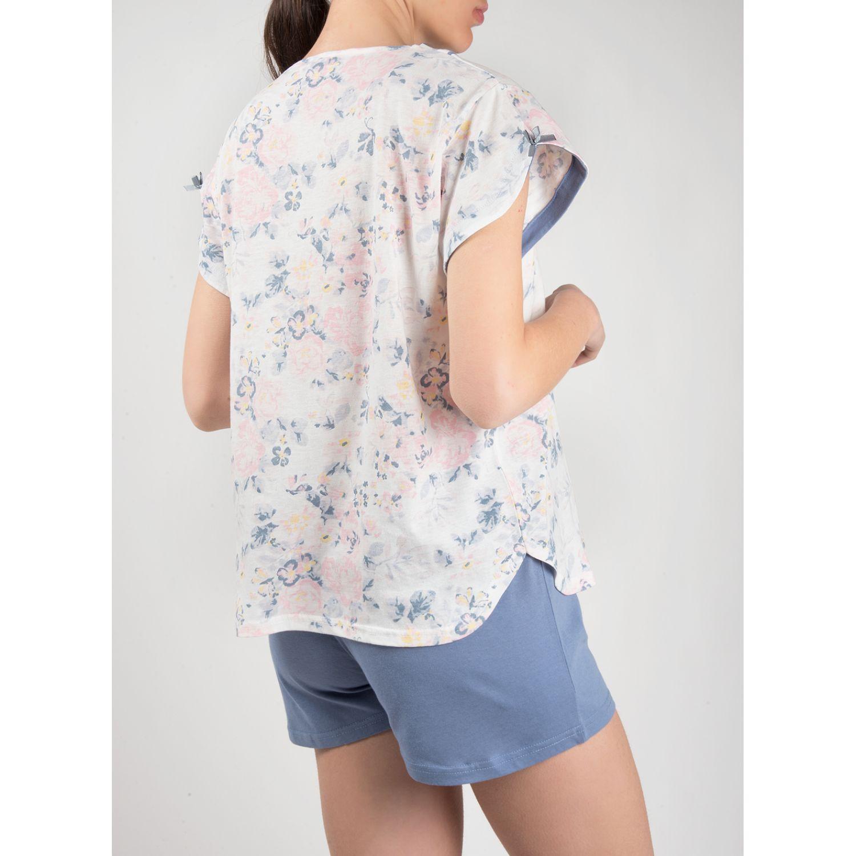 SISI Pijama 2piezas  9364 Lila Camisones y camisetas de dormir