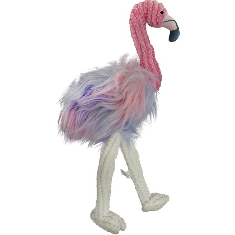 PETS BY LI Juguete Peluche Flamingo Para Mascota Varios Juguetes de peluche
