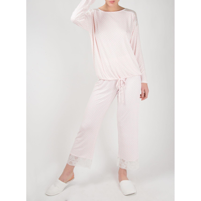 SISI Pijama Leena 2 Piezas Rosado Camisones y camisetas de dormir