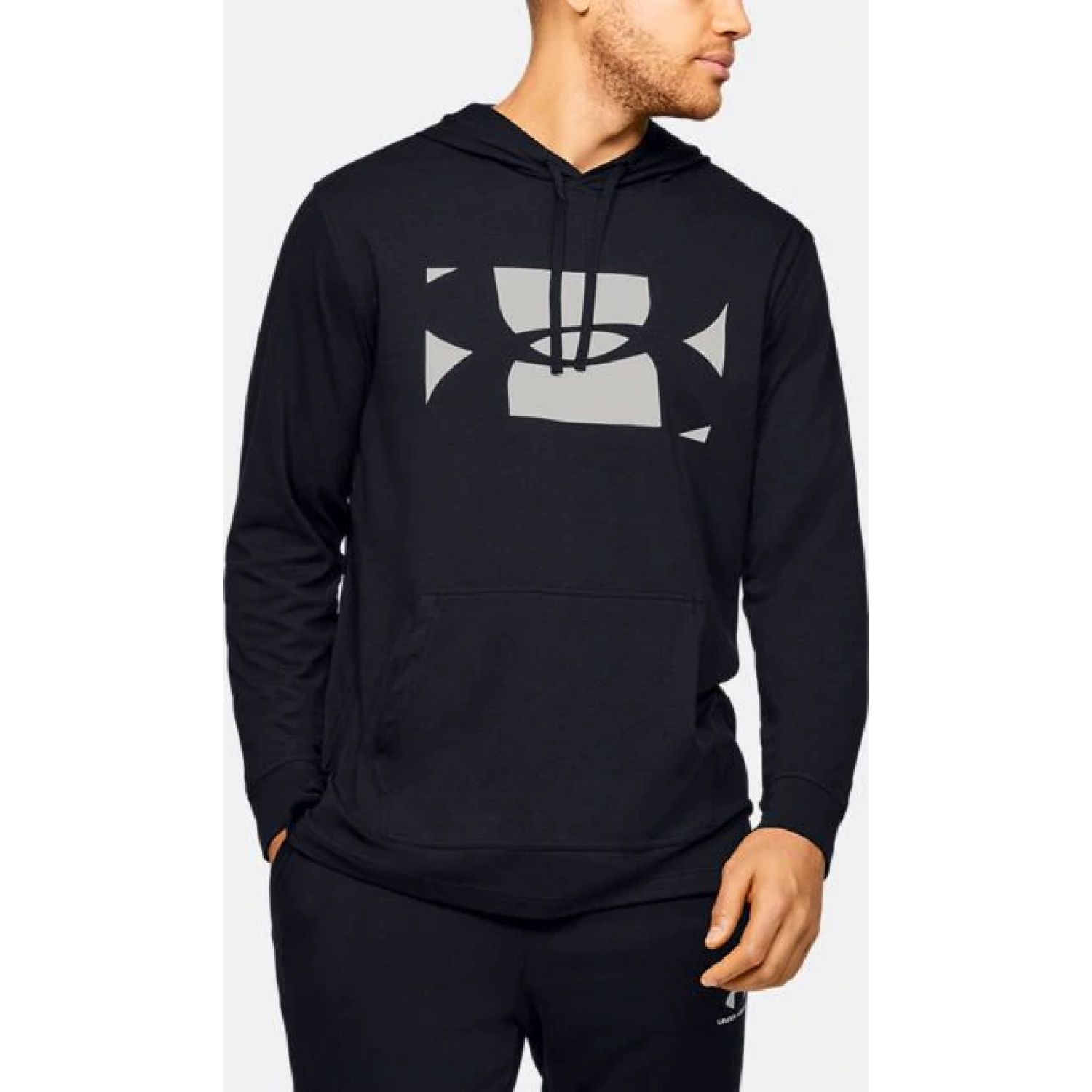 Under Armour Sportstyle Hoodie Negro Denim