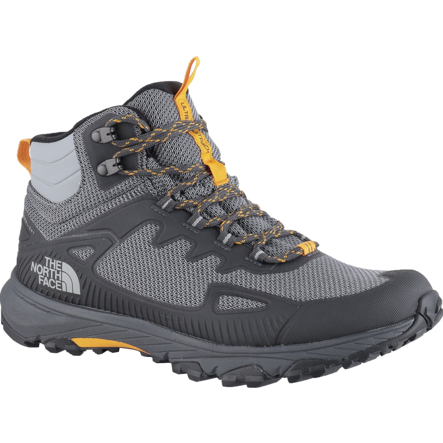 The North Face M Ultra Fastpack Iv Mid Futurelight NEGRO / GRIS Zapatos de senderismo