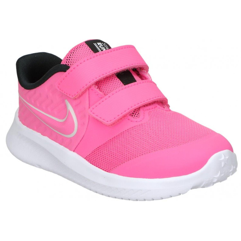 Nike Nike Star Runner 2 Tdv Rosado Zapatillas