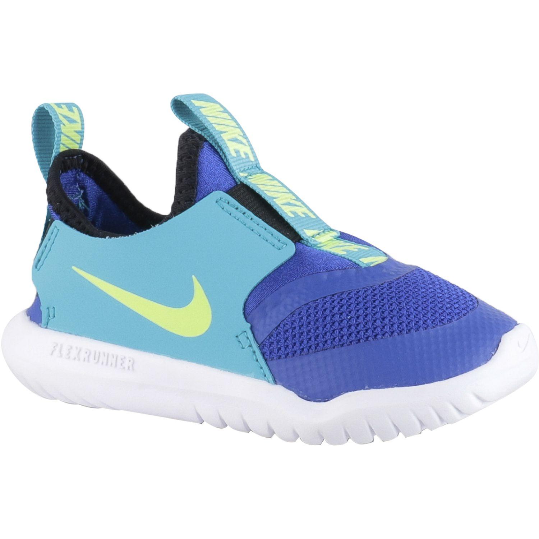 Nike Nike Flex Runner Td Azul Zapatillas