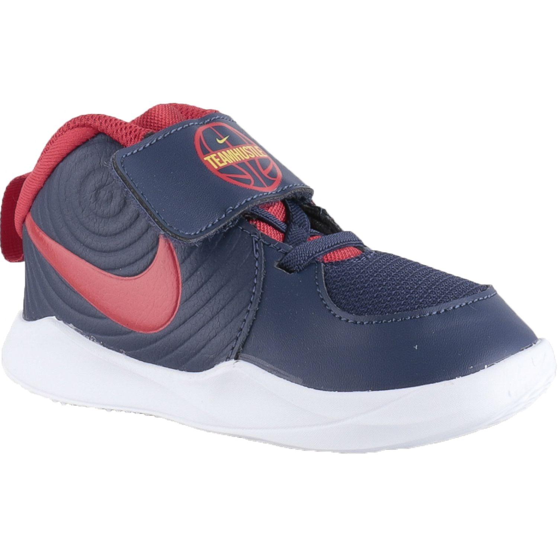 Nike Team Hustle D 9 Td Azul Zapatillas