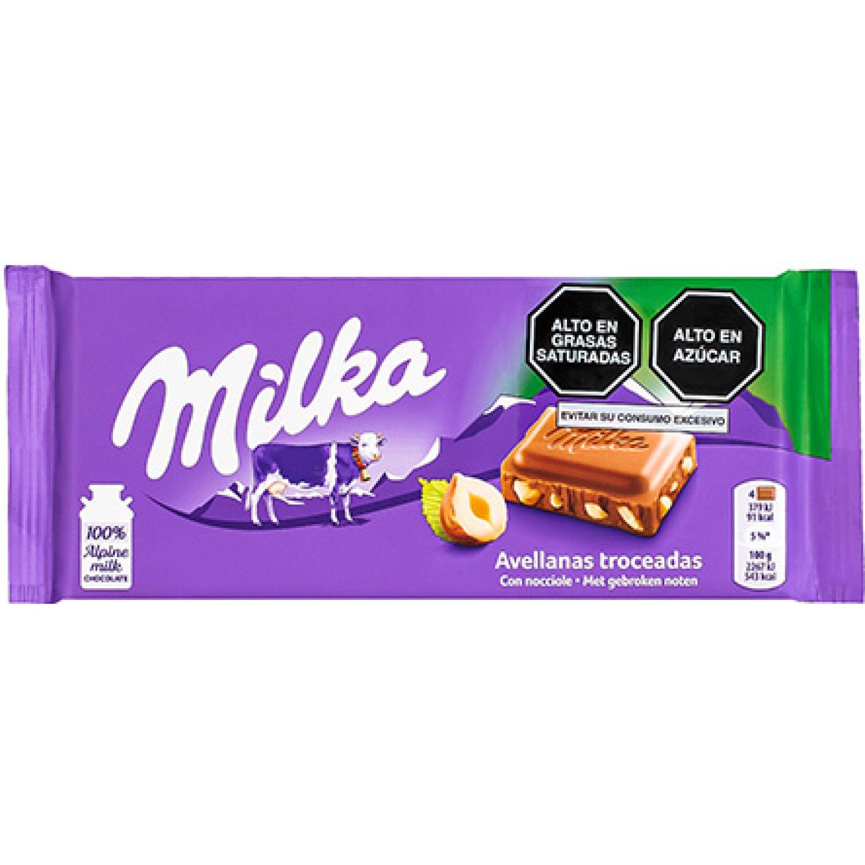 Milka Milka Hazelnut 100gr Sin color Barras de caramelo y chocolate