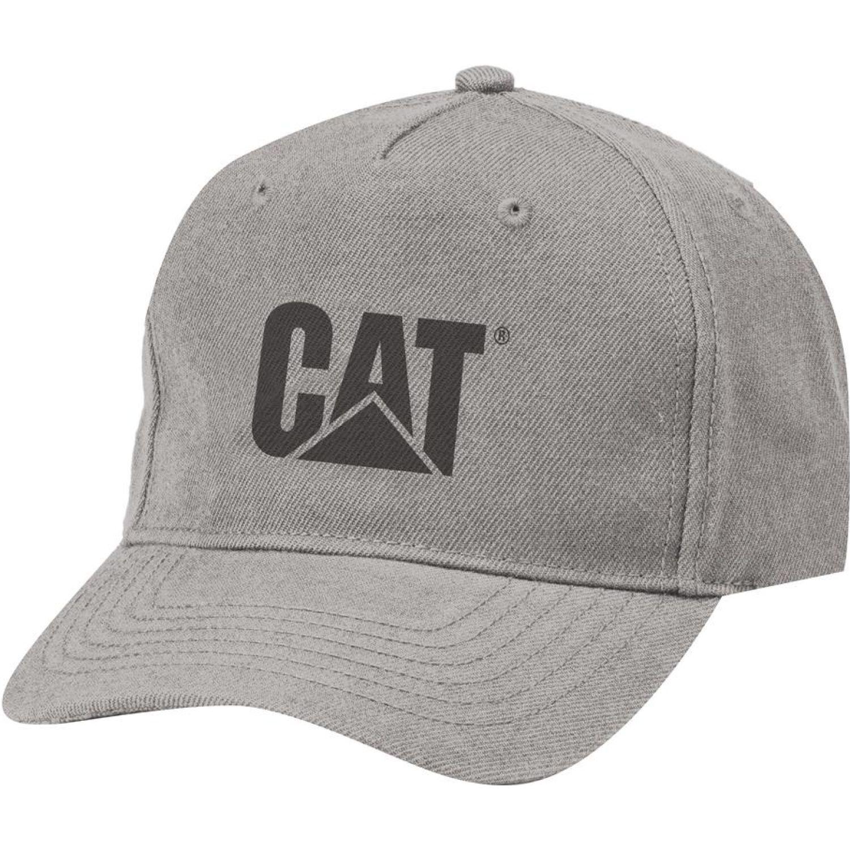 CAT Fitted Cat Hat Gris Gorras de béisbol
