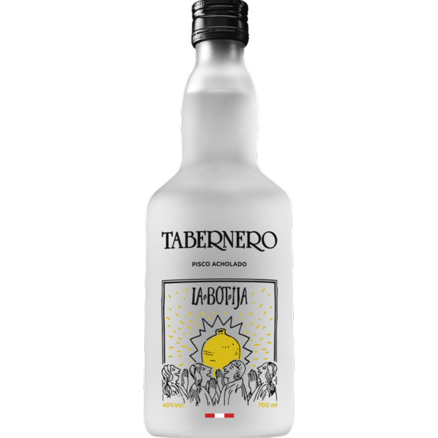 TABERNERO La Botija Pisco Acholado 700 Ml Sin color Brandy y aguardientes