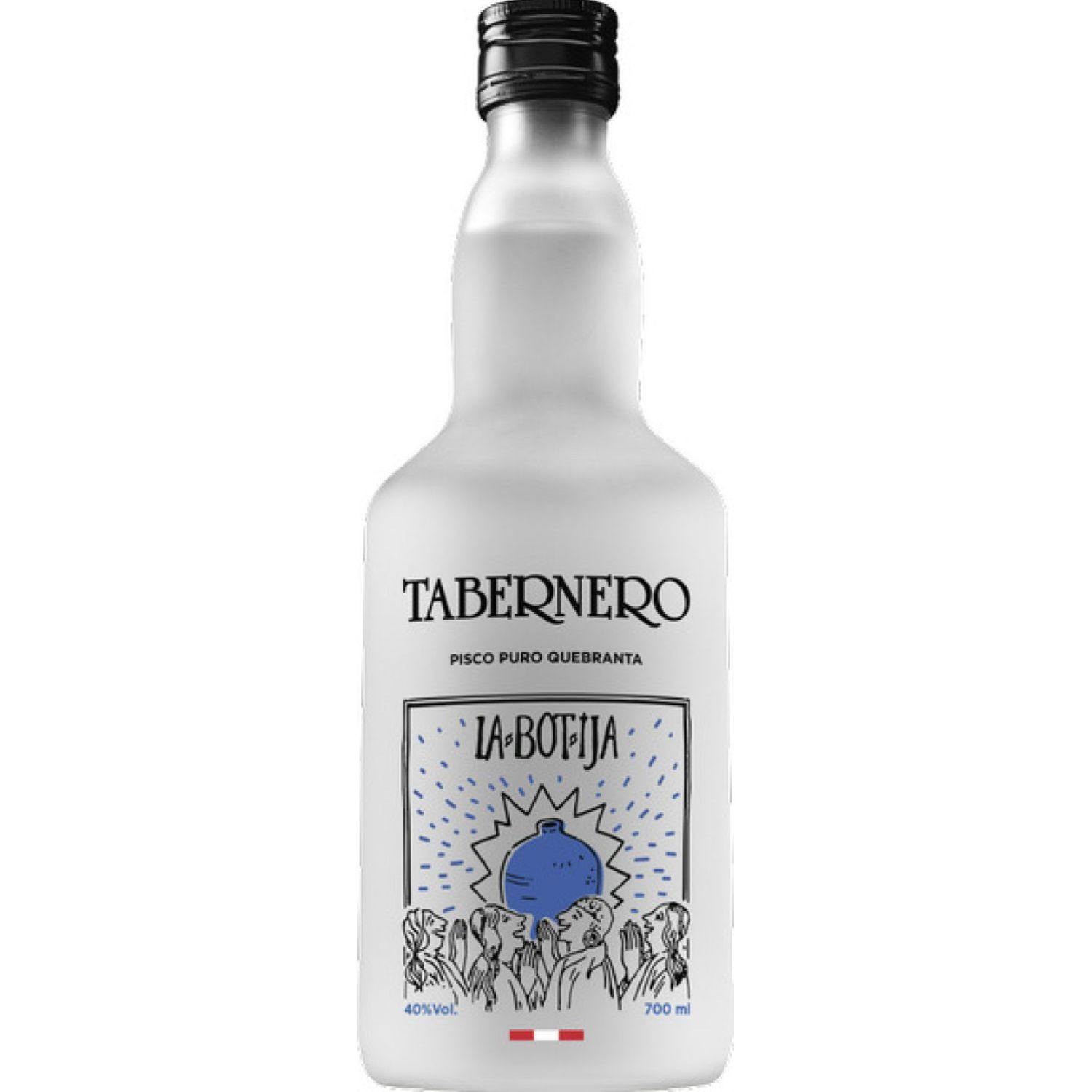 TABERNERO La Botija Pisco Quebranta  700ml Sin color Brandy y aguardientes