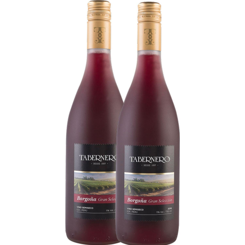 TABERNERO Tabernero Borgoña Gran Selecc. 2x750ML Sin color Vino Tinto