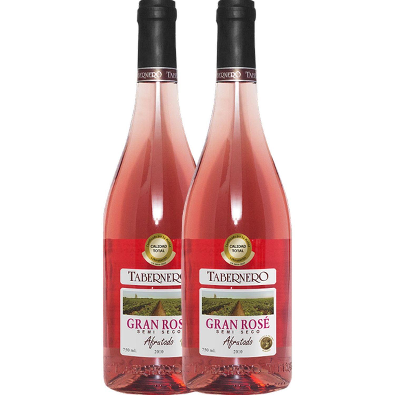 TABERNERO Tabernero Borgoña Gran Rosé  2 X 750ml Sin color Vino Tinto